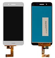 Дисплей Huawei Enjoy 5s/GR3 (TAG-L21/TAG-L01/TAG-L03) + сенсор белый ( модуль, стекло)