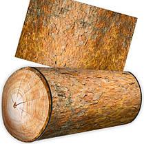 Подушка валик в виде бревна сосны