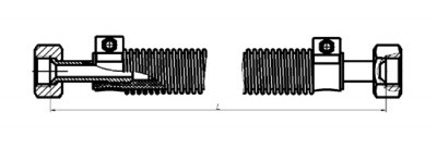 Рукава з'єднувальні типу Р45-13