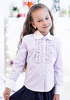Школьная блузка сиреневого цвета мод. 3002, фото 1
