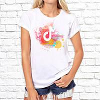 Женская футболка с принтом Tik Tok