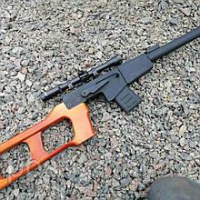 Снайперська Гвинтівка Винторез макет з дерева
