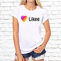 Женская футболка с принтом Likee