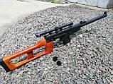Снайперська Гвинтівка Винторез макет з дерева, фото 4