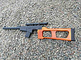 Снайперська Гвинтівка Винторез макет з дерева, фото 3