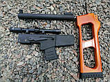 Снайперська Гвинтівка Винторез макет з дерева, фото 2