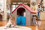 Будиночок FOLDABLE PLAY HOUSE червоно-бежевий-синій (Keter), фото 10