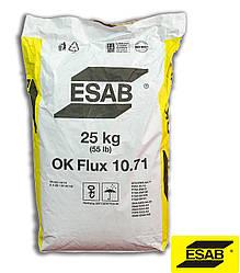 Зварювальний флюс OK Flux 10.71 25kg (55lb), Esab