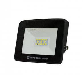 Прожектор светодиодный Евросвет EV-10-504 STAND 10Вт 6400К 800Лм (000040533), фото 2