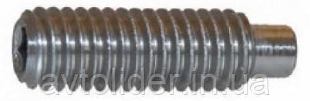 DIN 915 (ГОСТ 11075-93; ISO 4028) : нержавіючий настановний гвинт з циліндричним кінцем