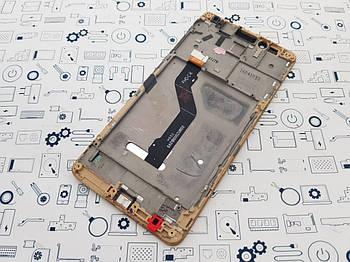 Дисплей Huawei GR5 KII-L21 модуль золотой Сервисный оригинал с разборки