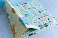 Детский коврик мягкий термо для ползания Атракцион - Ростомер, коврик для детей в детскую