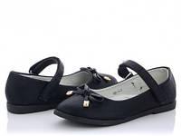 Детские туфли Xifa на девочку. Цвет черный. Размер 33, 35, 36..