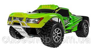 Радиоуправляемая модель автомобиля шорт-корс 1:18 WL Toys A969 4WD (зеленый)