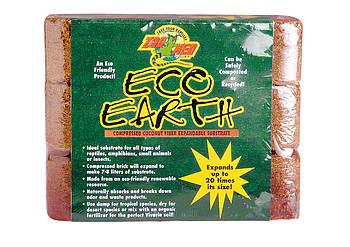 Кокосовий субстрат для тераріуму Croci Eco Earth 3 брикету 1,95 кг