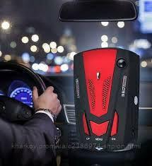 Антирадар V9 + Filok с дисплеем Красный и звуком для обнаружения лазера скорости