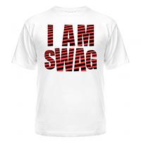 Футболка I am swag