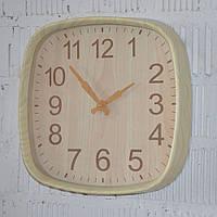 """Настенные часы """"Wood time light"""" (30 см.), фото 1"""