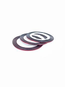 Маникюрная лента-скотч для декора ногтей красная