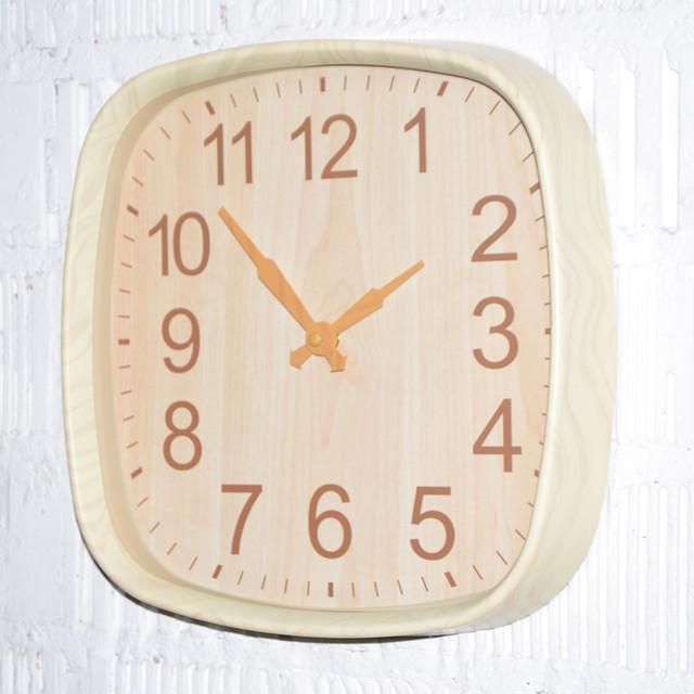 """Настенные часы """"Wood time light"""" (фото)"""