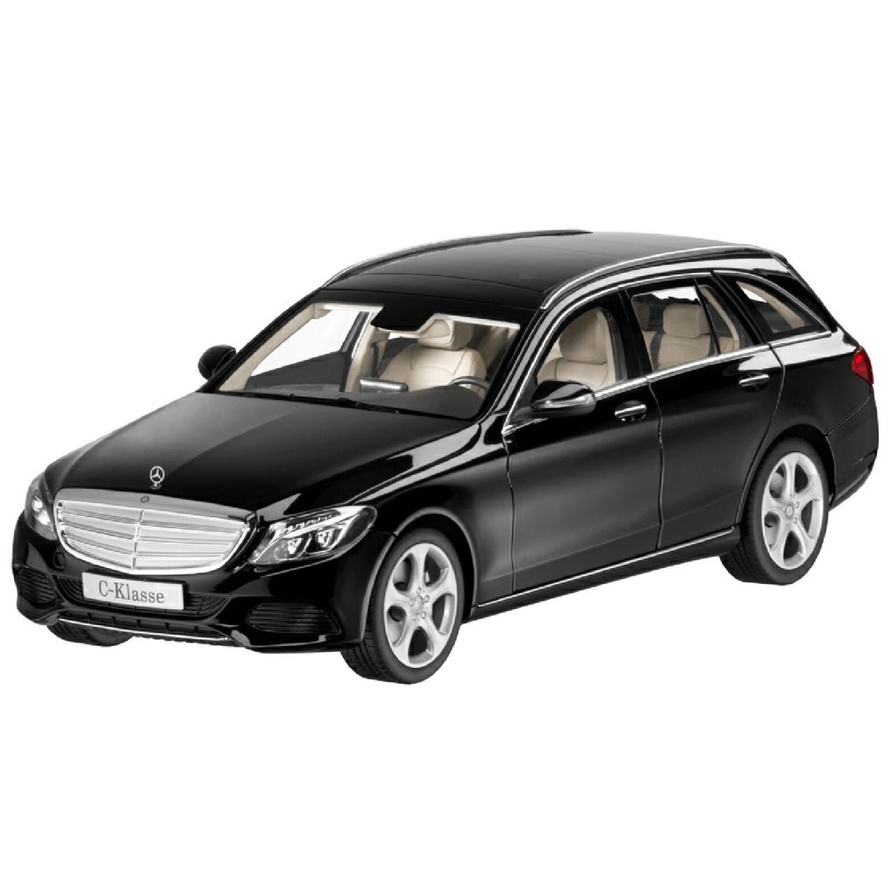 Модель автомобіля Mercedes C-Class Estate, Exclusive, Scale 1:18, Black, артикул B66960259