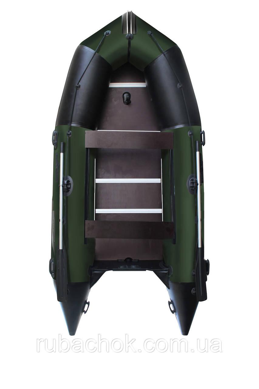 Човен надувний моторний Аквастар K-400