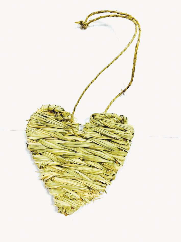 Игрушка для грызуна соломенное сердце 13*30 см Croci