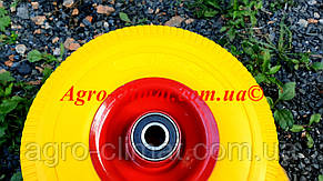 Колесо для тачки 4.00 - 4 под ось 20 мм, без оси, фото 3