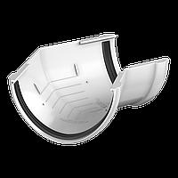 Угол желоба 135° Технониколь, Белый 125 ПВХ