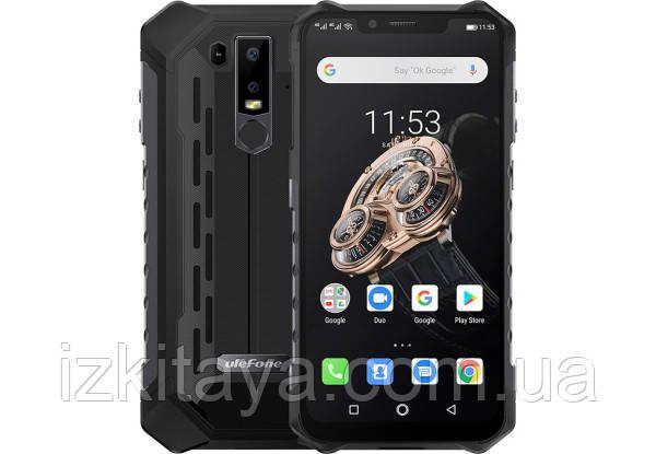 Смартфон UleFone Armor 6S black 6/128 Гб степень защиты IP69K NFC