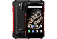 Защищенный смартфон UleFone Armor X5 red