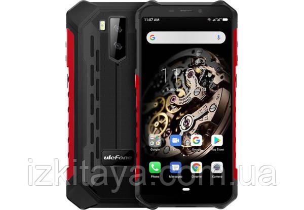 Защищенный смартфон UleFone Armor X5 red + стартовый пакет Sweet TV в подарок