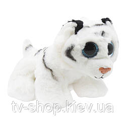 """М'яка іграшка Глазастик """"Білий тигр"""", 14 см"""