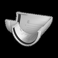 Угол желоба 90° Технониколь, Белый 125 ПВХ