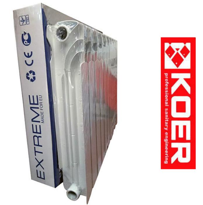 Биметаллический Радиатор Extreme 500х96 Koer (Премиум Серия)