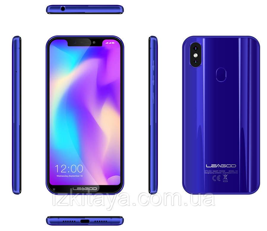 Смартфон Leagoo S9 blue