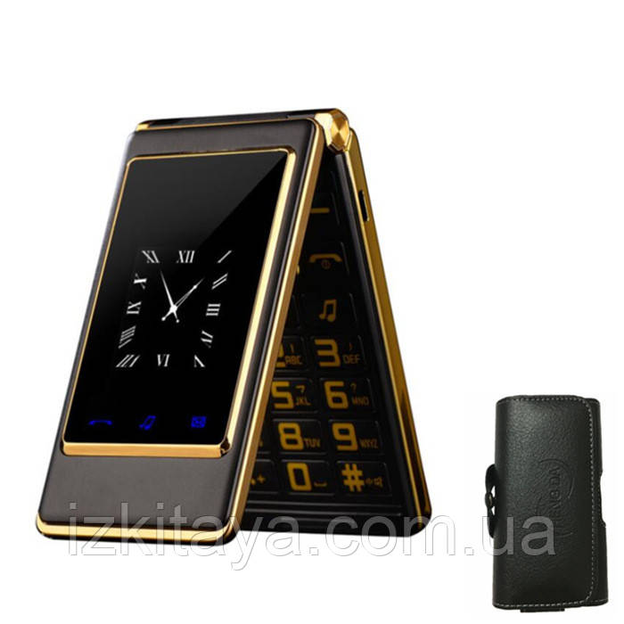 Мобильный телефон Tkexun A15 (Satrend A15, Dsfen A15) black. Flip