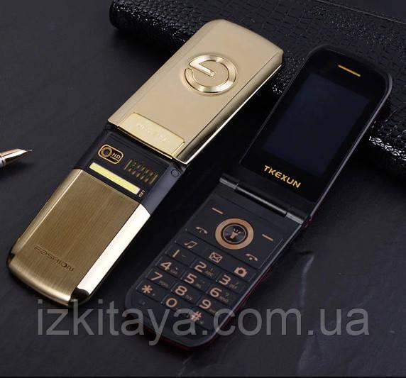 Мобільний телефон Tkexun G3 gold
