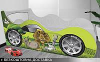 Кровать машина МАДАГАСКАР Shock Cars от 1400х700, фото 1