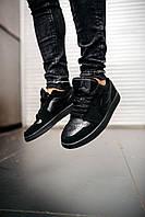 Мужские кроссовки Nike Air Jordan Black \ Найк Аир Джордан Черные \ Чоловічі кросівки Найк Аір Джордан