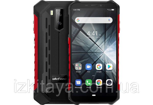 Смартфон UleFone Armor X3 red IP69K батарея 5000 mAh
