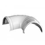Угол желоба регулируемый 90°-150° Технониколь, Белый 125 ПВХ, фото 2