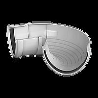 Угол желоба регулируемый 90°-150° Технониколь, Белый 125 ПВХ