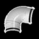 Угол желоба регулируемый 90°-150° Технониколь, Белый 125 ПВХ, фото 3