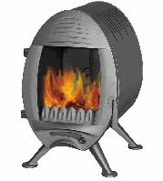 Чугунная печь Invicta Oxo антрацит
