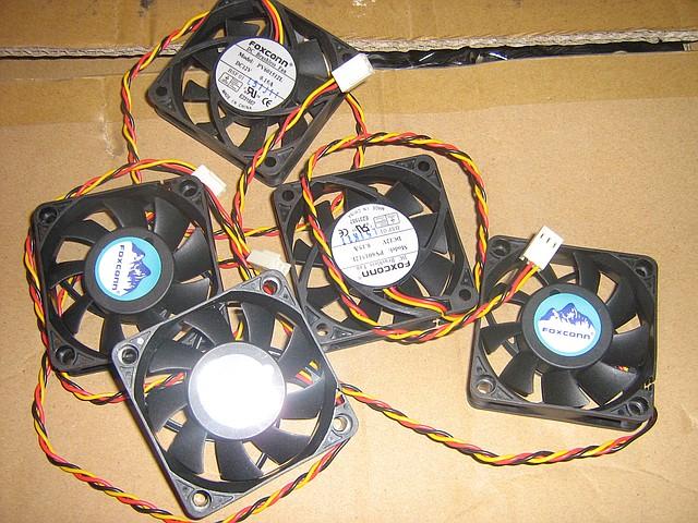 Вентилятор для корпуса 60мм