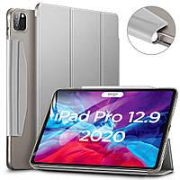 Чехол ESR для iPad Pro 12.9 (2018 / 2020) Yippee Trifold, Silver Gray (3C02192480401)