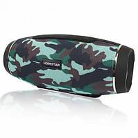 Портативная Bluetooth колонка Hopestar H27 Mega Bass Акустическая стерео система с аккумулятором Камуфляжная