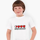 Футболка детская Майнкрафт (Minecraft) Белый (9224-1172)