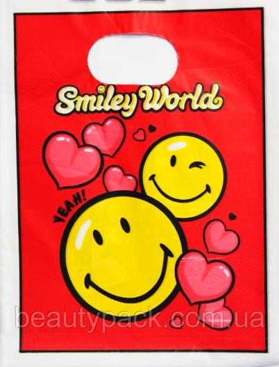 Пакет полиэтиленовый Банан 15 х20 см / уп-100шт